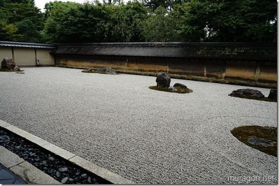 龍安寺 枯山水庭園 石庭