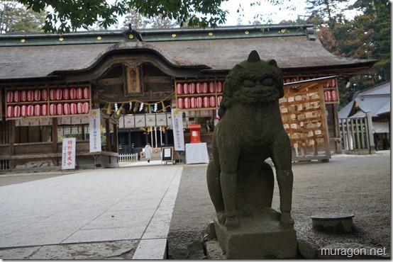 大崎八幡宮 狛犬