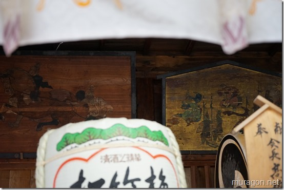 大崎八幡宮 長床 絵馬
