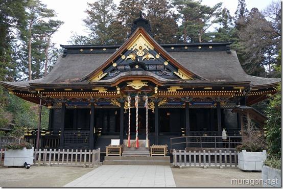 大崎八幡宮 拝殿