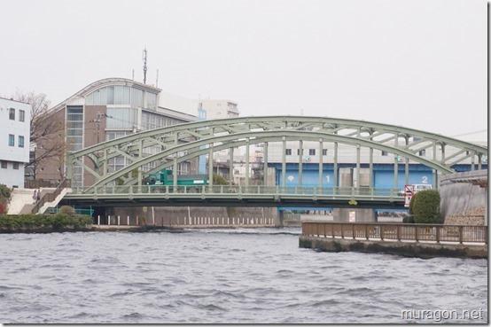 隅田川から撮影した小名木川