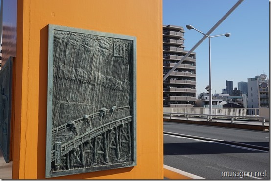 江戸時代の新大橋