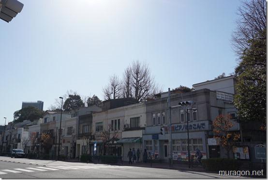 看板建築(清澄通り)