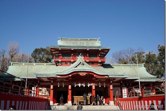 (七福神:恵比寿神)富岡八幡宮