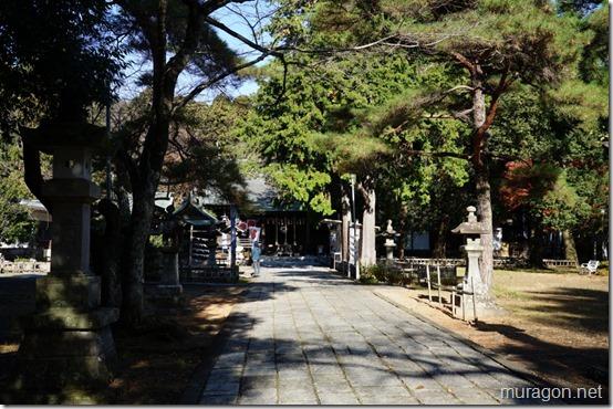 青葉神社 参道