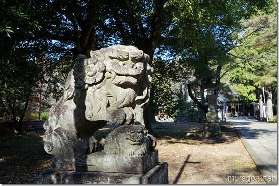 青葉神社 狛犬