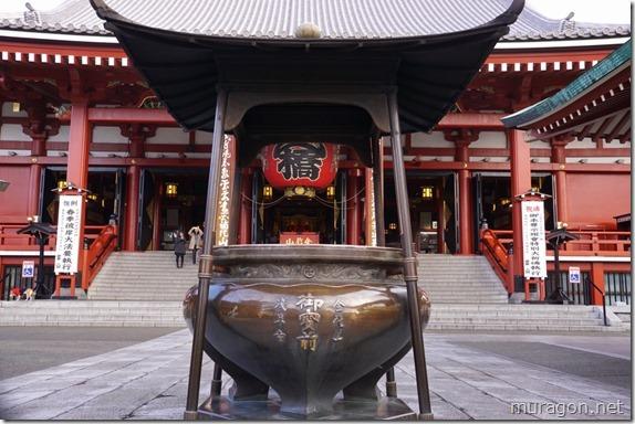 浅草寺常香炉