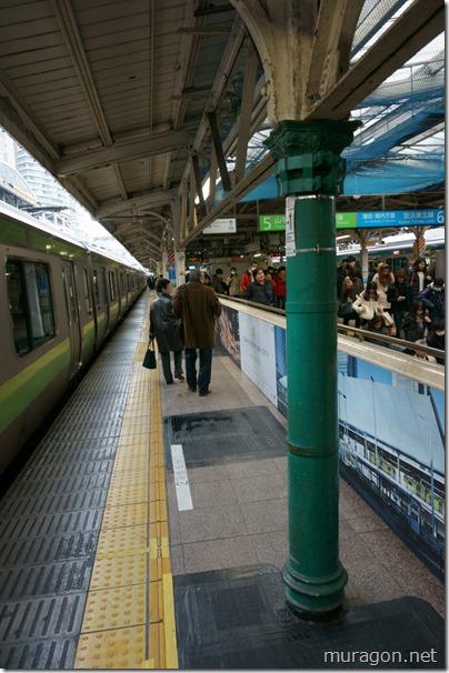東京駅 開業当時からの支柱