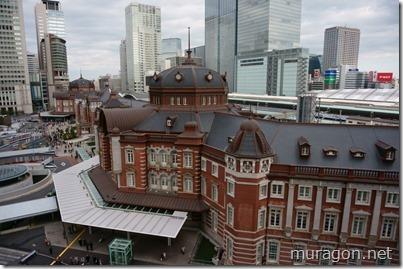 東京中央郵便局(キッテガーデンの展望テラス)