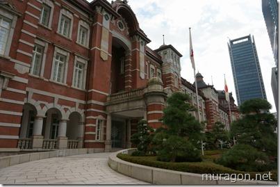 東京駅 皇室専用貴賓出入口