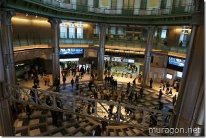 東京駅 丸の内北口 2階より