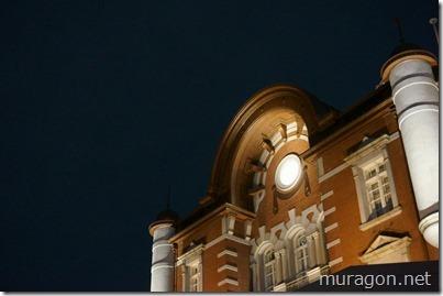 東京駅のライトアップ(夜景)
