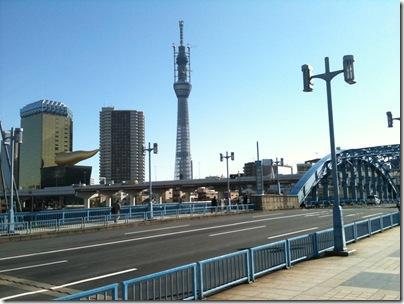 駒形橋から東京スカイツリー
