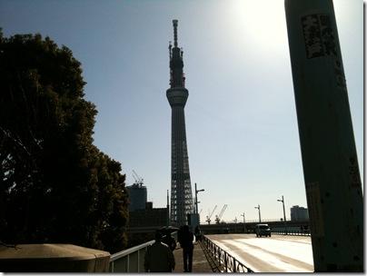 言問橋から東京スカイツリー