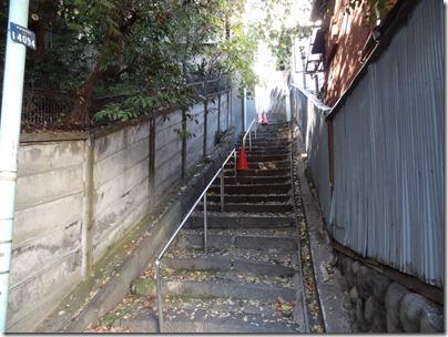 千駄木ふれあいの杜横の階段
