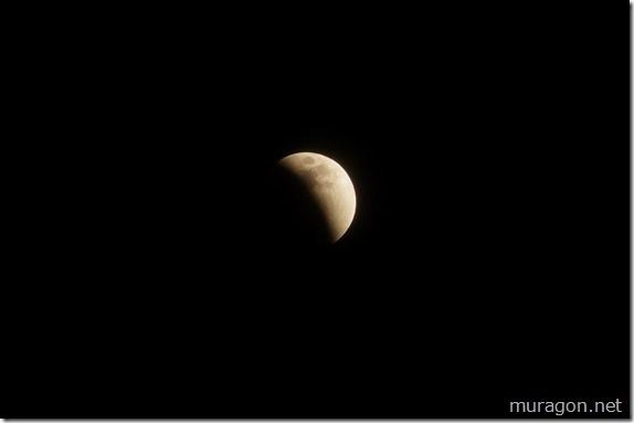 「スーパーブルーブラッドムーン」皆既月食