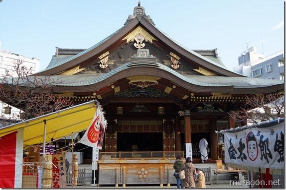 湯島天神拝殿