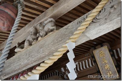志和稲荷神社拝殿