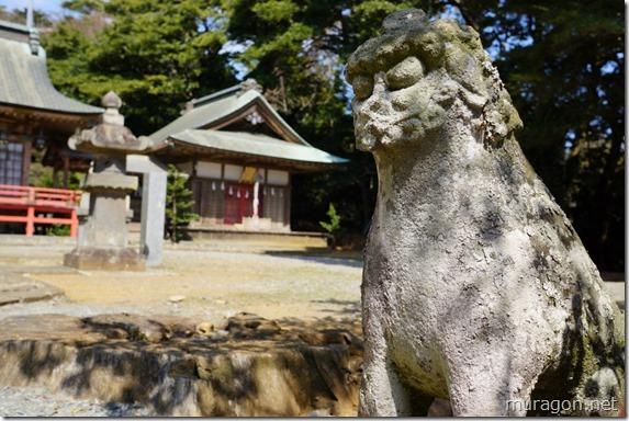 御崎神社 狛犬