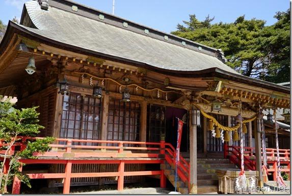 御崎神社 拝殿