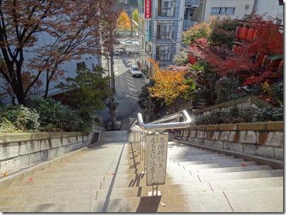 銅鳥居からの眺め