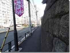 湯島切通坂 石垣
