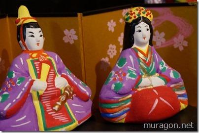 陶器の雛人形