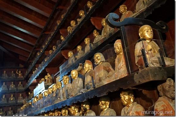 報恩寺(盛岡市那須川町)の五百羅漢