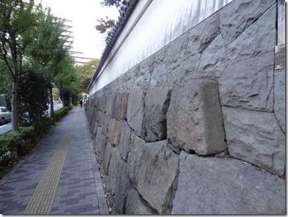 江戸城外堀石垣再利用