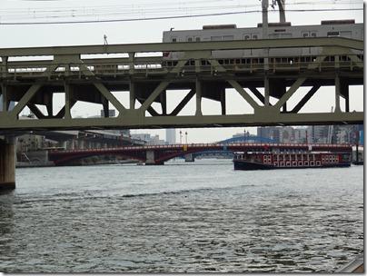 東武鉄道と水上バス