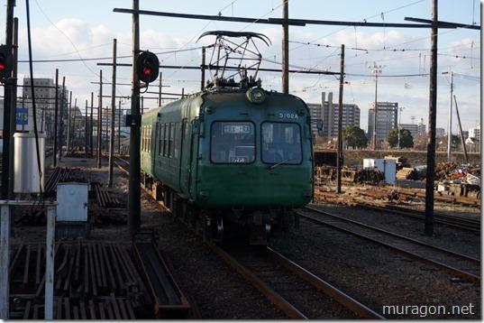 熊本電鉄青がえる(5000系電車)
