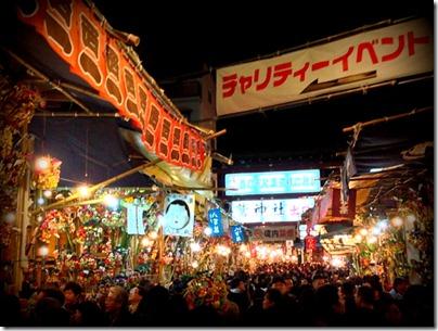 酉の市起源発祥の神社 鷲神社