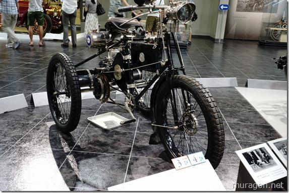 ド ディオン ブートン 1 3/4HP(1898年フランス)