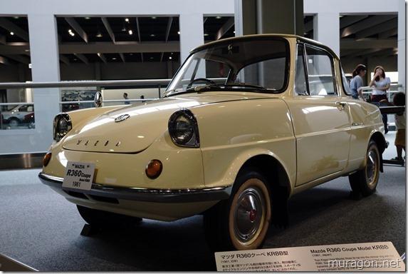 マツダ R360クーペ KRBB型(1961年)