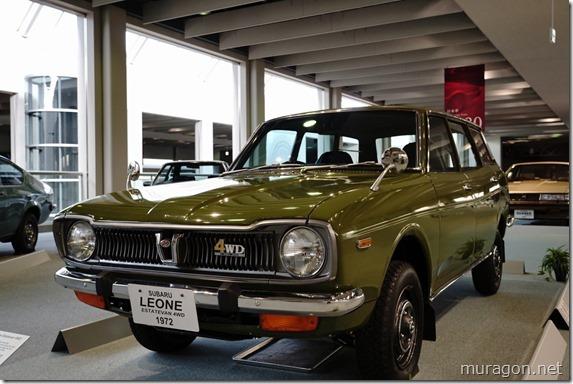 スバル レオーネ エステートバン4WD (1972)