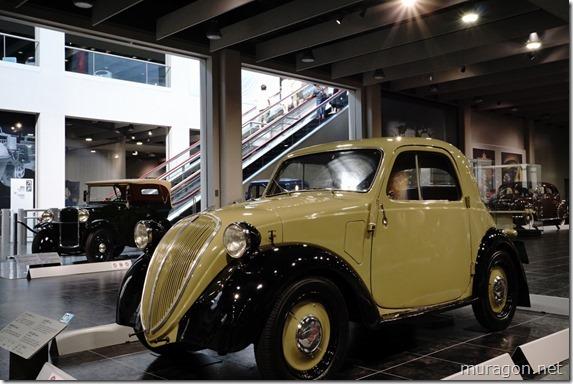 """フィアット 500 """"トッポリーノ"""" (1936年イタリア)"""