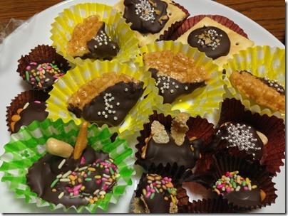 手作りチョコレート菓子