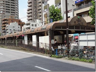 早稲田の停留場