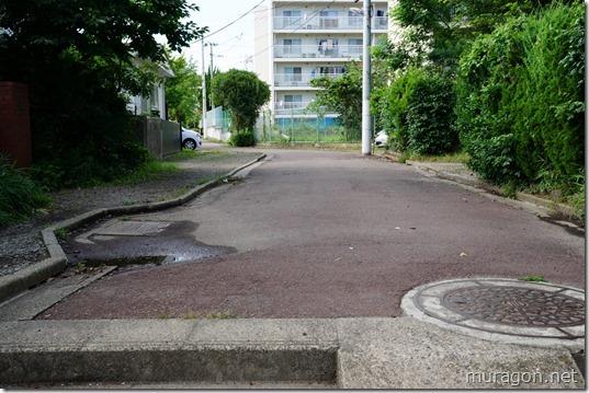 四ツ谷用水、へくり沢 暗渠の立体交差