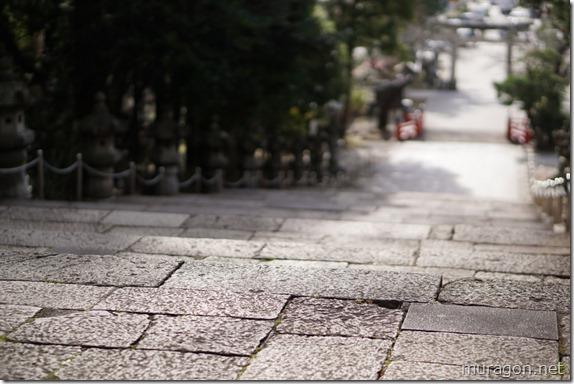 仙台東照宮 石段