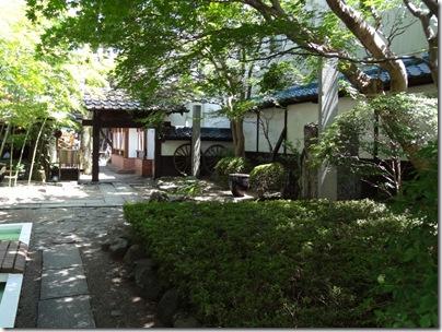 光原社の中庭