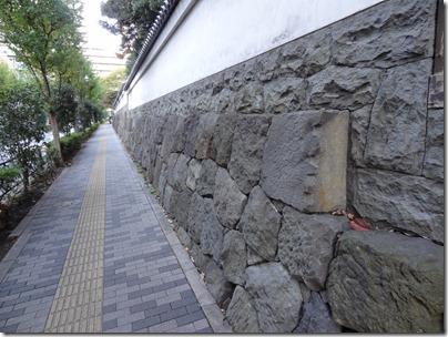 再利用された石垣