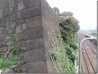 「牛込見附」の石垣