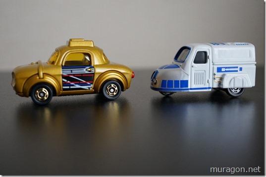 SC-03 R2-D2、SC-04 C-3PO