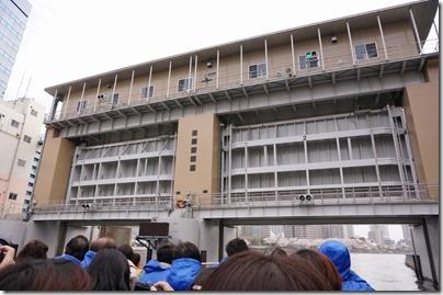亀島川水門