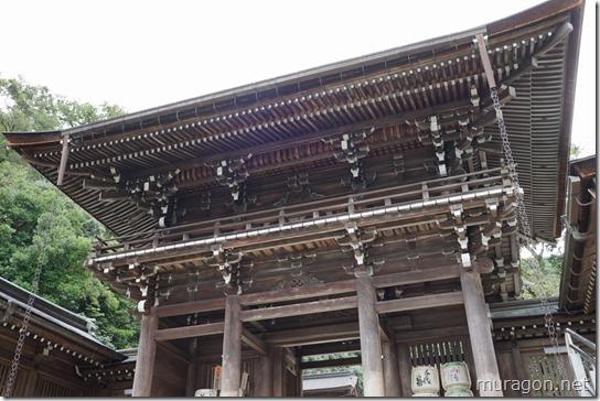 伊奈波神社楼門
