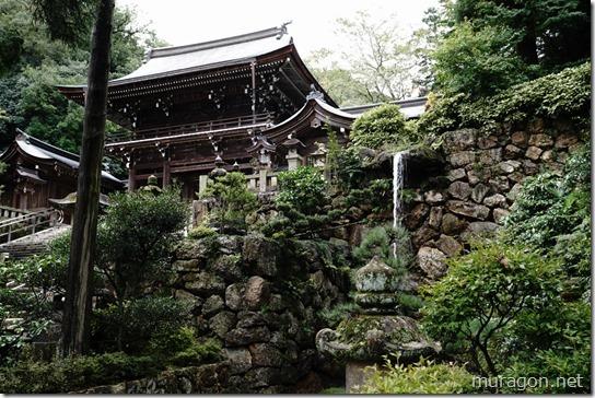 伊奈波神社神滝
