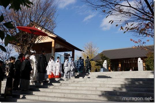 赤城神社 神前式