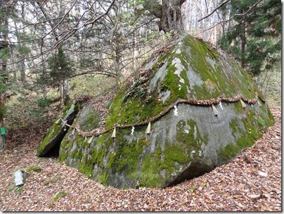アラハバキ大神の巨石