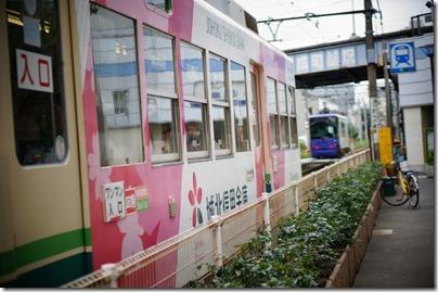京成電鉄とクロス